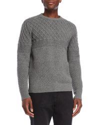 Barque - Grey Pullover Sweater - Lyst