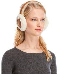 UGG - Real Shearling Earmuffs - Lyst