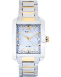 Seiko - Sne463 Two-tone Watch - Lyst