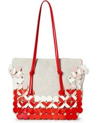 Nanette Lepore - Peggy Floral Applique Shoulder Bag - Lyst