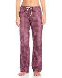 Psycho Bunny - Woven Checkered Drawstring Lounge Pants - Lyst