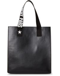 Givenchy - Black Medium Stargate Leather Tote - Lyst
