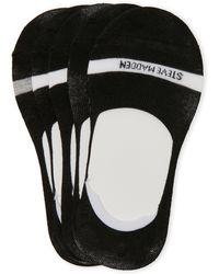 Steve Madden - 5-Pack Foot Liner Socks - Lyst