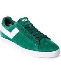 Product Of New York - Kelly & White Topstar Low Core Suede Sneakers - Lyst