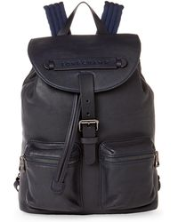 Longchamp - 3d Small Leather Backpack - Lyst
