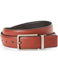 Perry Ellis - Classic Luggage Brown & Black Reversible Belt - Lyst