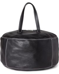 Balenciaga - Black Air Hobo Extra-large Leather Tote - Lyst