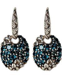 Stephen Dweck - Sterling Silver & London Blue Topaz Earrings - Lyst
