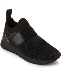 Wesc - Black Mesh Knit Slip-on Sneakers - Lyst