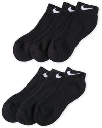 Nike | 6-Pack Performance Cotton Cushioned Socks | Lyst