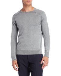 Forte - Garment Dyed Crew Neck Sweater - Lyst