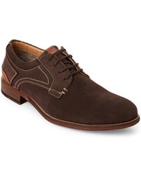 Steve Madden - Chocolate Mychel Perforated Oxfords - Lyst