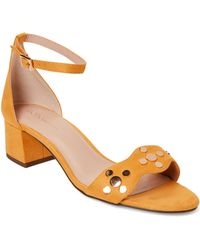 93a46d13f36 BCBGeneration - Sun Fifi Dream Studded Ankle Strap Sandals - Lyst