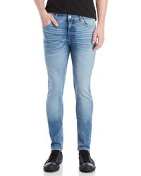 Cheap Monday - Dug Up Blue Skinny Jeans - Lyst