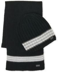Levi's - Stripe Hat & Gloves Set - Lyst