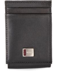 Tommy Hilfiger - Black Magnetic Card Case - Lyst