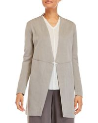 Transit - Open Front Overcoat - Lyst