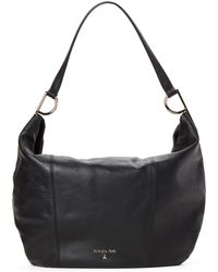 Patrizia Pepe - Black Leather Hobo - Lyst