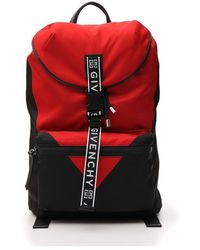 Givenchy - Two-tone Logo Strap Backpack - Lyst