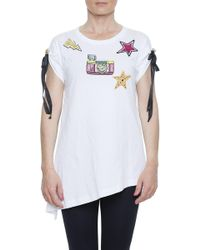 Dolce & Gabbana - Embellished Appliques T-shirt - Lyst