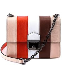Lyst - Longchamp Le Pliage Nã©O Small Handbag in Blue 77940086801ce