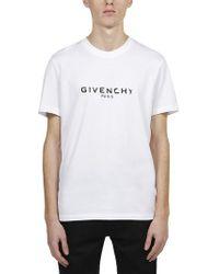 26a3e6bc1acc Givenchy - Logo Cotton T-shirt - Lyst