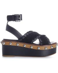 RED Valentino - Chunky Sole Sandals - Lyst