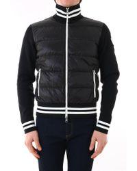ae272797f2eb Lyst - Moncler Men s 411368554155764 Black Polyamide Outerwear ...