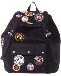 Saint Laurent - Patch Embellished Noe Backpack - Lyst