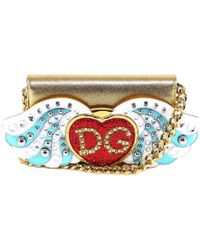 Dolce   Gabbana Mini Sicily Bag in Metallic - Lyst f002664fb5aef