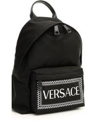 Versace - Backpack Shoulder Bag Women - Lyst 6afa4d5b94c31