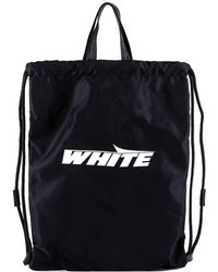 Off-White c/o Virgil Abloh - Drawstring Backpack - Lyst