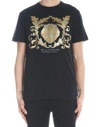 66471c69 Alexander McQueen Lion Skull T-shirt in Gray for Men - Lyst