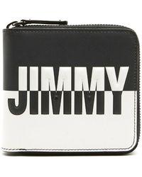 Jimmy Choo - Contrast Logo Wallet - Lyst