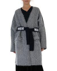 Golden Goose Deluxe Brand - Belted Wrap Coat - Lyst