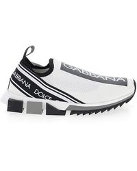 Dolce & Gabbana - Branded Sorrento Sock Sneakers - Lyst