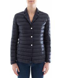 Moncler - V-neck Quilted Jacket - Lyst