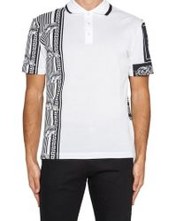 90900884 Lyst - Versace 12 Polo Shirt in White for Men