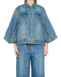 Sacai - Bat Sleeve Denim Jacket - Lyst