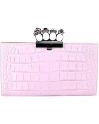 Alexander McQueen - Jewelled Rings Clutch Bags - Lyst