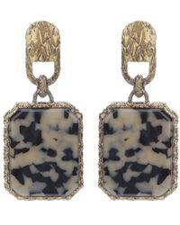 Balenciaga - Stone Earrings - Lyst