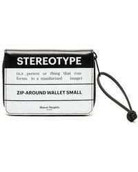 Maison Margiela - Stereotype Print Wallet - Lyst