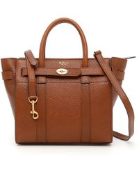 Mulberry - Mini Zipped Bayswater Bag - Lyst