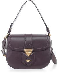 Moschino - Logo Foldover Crossbody Bag - Lyst