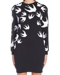 McQ - Sparrow Knit Jumper Dress - Lyst