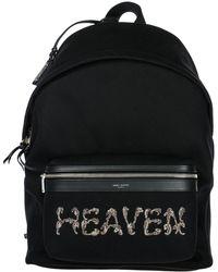 Saint Laurent - Heaven City Backpack - Lyst