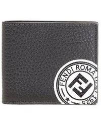 Fendi - Logo Stamp Wallet - Lyst