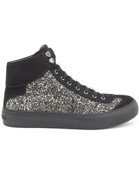 Jimmy Choo - Argyle Hi-top Sneakers - Lyst
