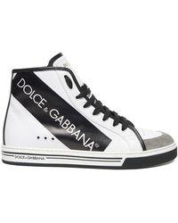 Dolce & Gabbana - Roma Hi-top Sneakers - Lyst