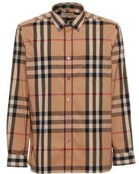 Burberry - Classic House Check Shirt - Lyst